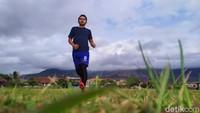 Foto Lapangan Bola Rancabango: Pemandangan Top, Ada Pemandian Air Panas