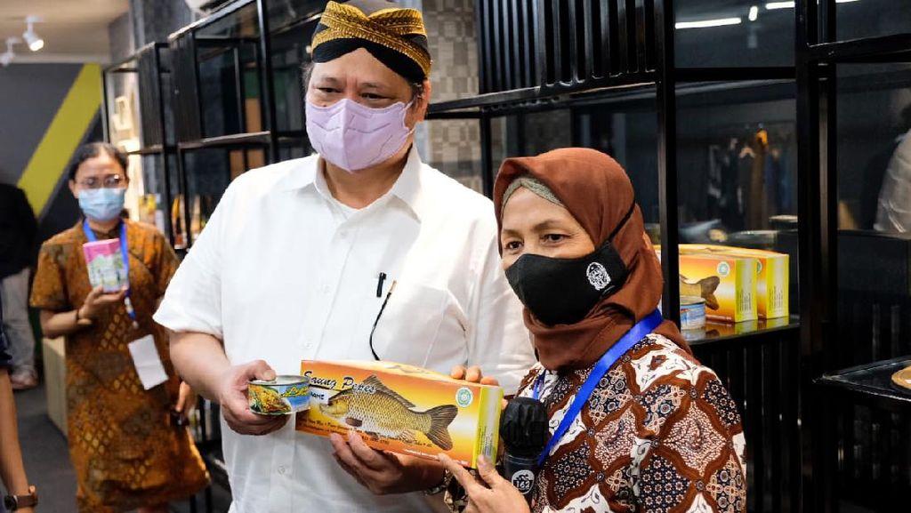 Tinjau Penguatan UMKM di Yogyakarta, Airlangga: Butuh Kerja Sama