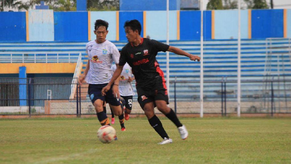 Persela Keok dari Madura United di Laga Uji Coba
