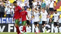 Hasil Euro 2020 Tadi Malam: Jerman Hajar Portugal, Prancis & Spanyol Seri