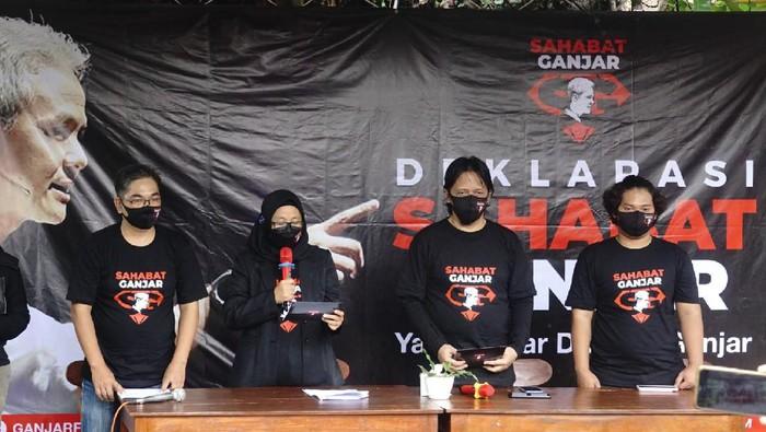 Sahabat Ganjar dorong Ganjar maju Pilpres 2024 (Foto: dok Sahabat Ganjar)