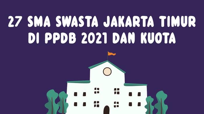 SMA Swasta di Jakarta Timur yang masuk PPDB DKI 2021