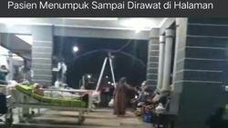 Heboh Pasien DIrawat di Halaman RS Jepara, Satgas COVID: Sudah Tertangani