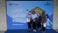TASPENGelar Vaksinasi Gotong Royong, Diikuti 593 Karyawan & Keluarga