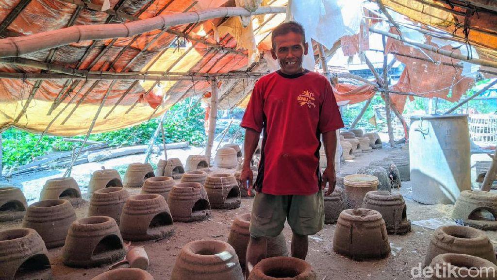 Meski Menurun di Masa Pandemi, Namun Bisnis Tungku di Ponorogo Masih Cuan