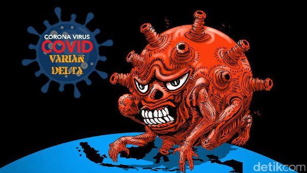 ジャカルタ「デルタ」変異体はコロナ症例の90%(海事投資調整大臣のルフット氏) COVID-19 | デルタ変異体 | 新型コロナ