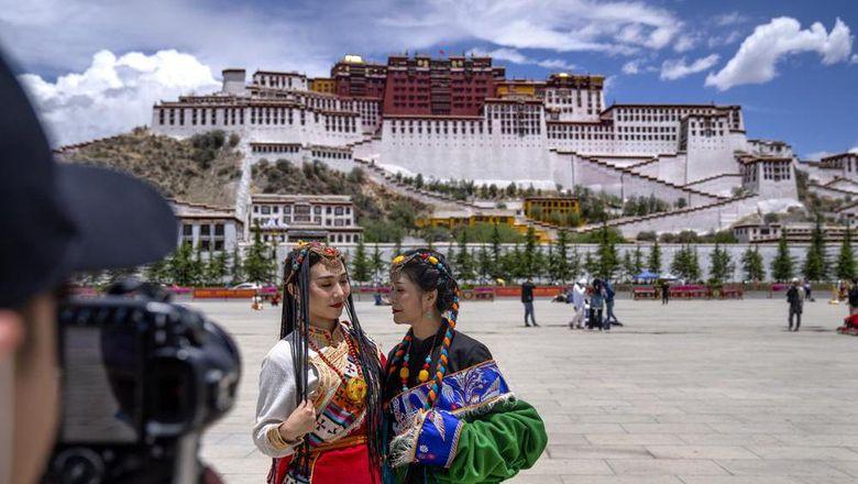 Istana Potala di Lhasa, Tibet