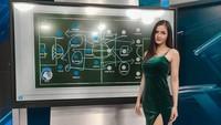 Kartika Berliana Host Cantik yang Curi Perhatian di Tengah Semarak Euro 2020