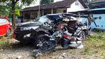 Ngeri Begini Kondisi Mobil Tabrakan Beruntun di Tol Boyolali