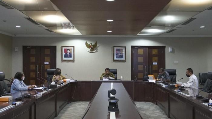 Moeldoko, Wamenkumham dkk rapat membahas RUU PKS (Foto: dok KSP)