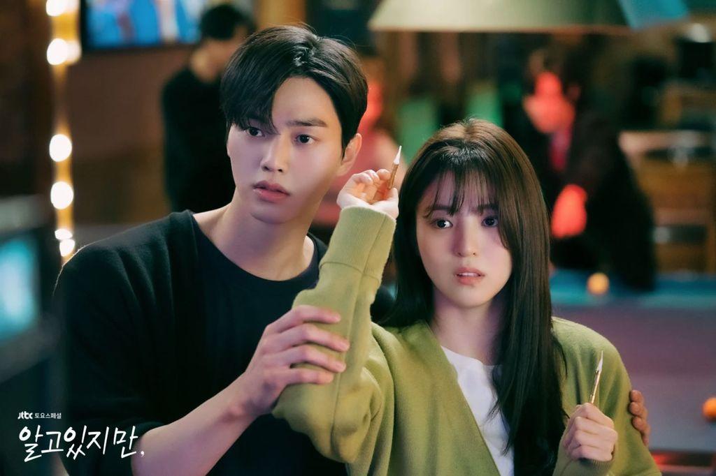 Momen Mesra Song Kang dan Han So Hee