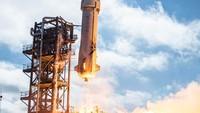Wujud Roket Orang Terkaya yang Disebut Mirip Kelamin