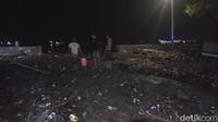 Banjir Sempat Rendam Permukiman Warga di Polman, Kini Sampah Mengendap