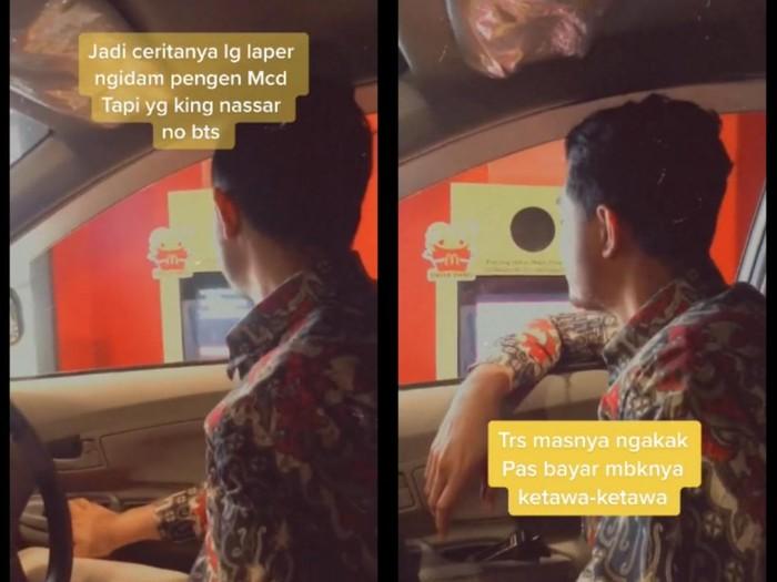 Iseng Pesan Nassar Meal, Netizen Ini Bikin Staff McD Ngakak