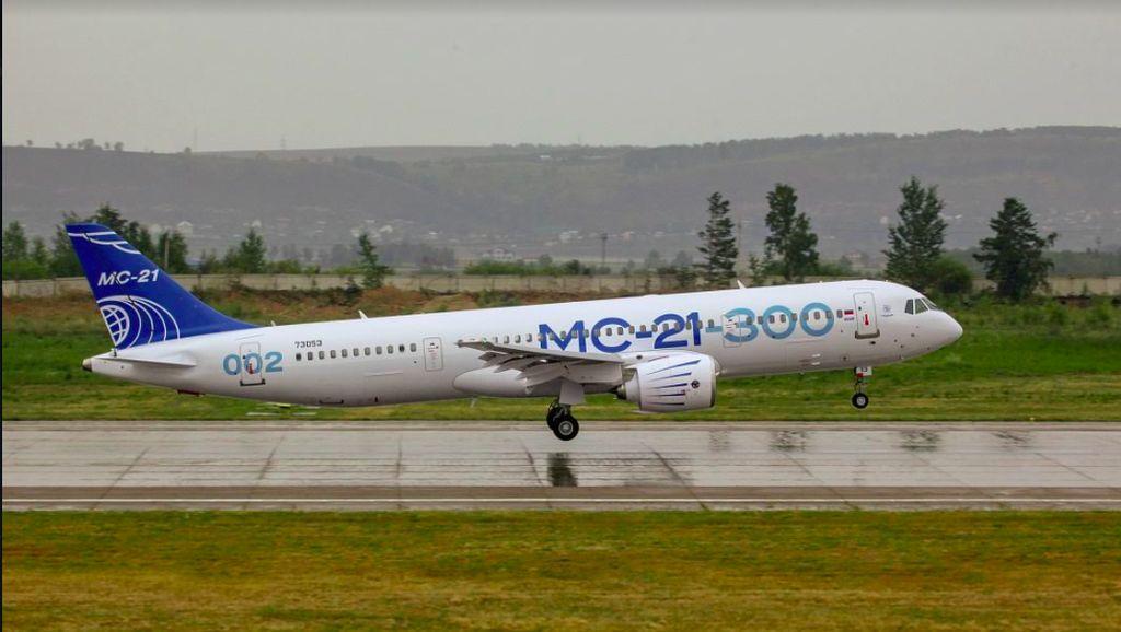 Boeing dan Airbus Killer Ini Disapa Irkut MC-21