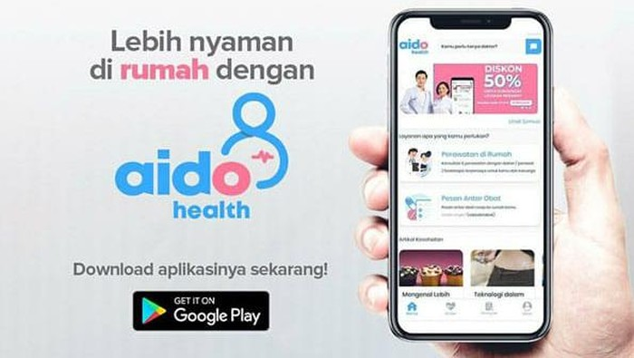 Rapid Test di Rumah dengan Aido Health.