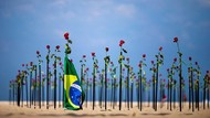 Setengah Juta Warga Brasil Meninggal Gegara COVID-19