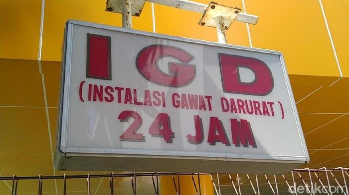 Suasana IGD di RSUD Bendan, Kota Pekalongan, Senin (21/6/2021).