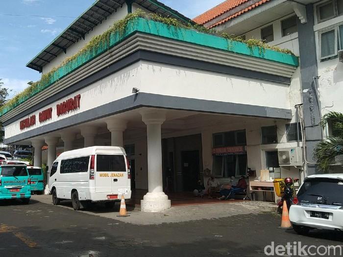 Suasana RSUD dr R Soetrasno Rembang, Senin (21/6/2021).
