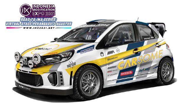 Supergiveaway Road to IMX 2021 Series: Virtual Stage Pekanbaru, Honda Brio