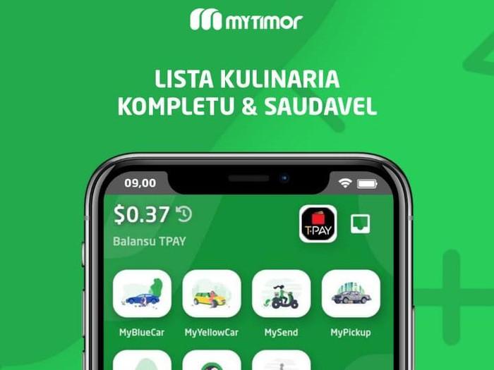 Telkomcel menghadirkan MyFood, layanan pesan antar serupa Go-Food di Timor Leste.