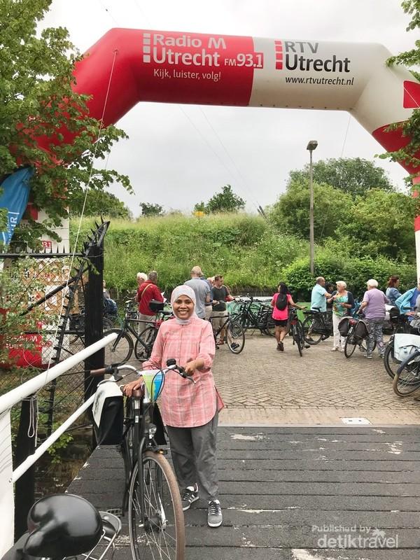 Area start dan finish di Benteng Lunet 1
