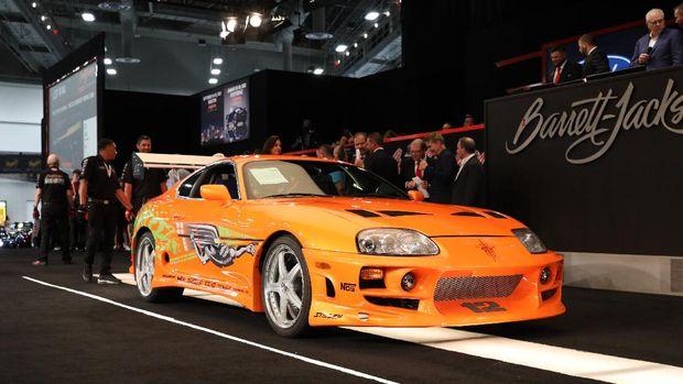 Toyota Supra yang pernah disetir Paul Walker