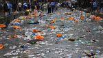 Waduh! Sampah Penuhi Jalanan London Usai Euro 2020