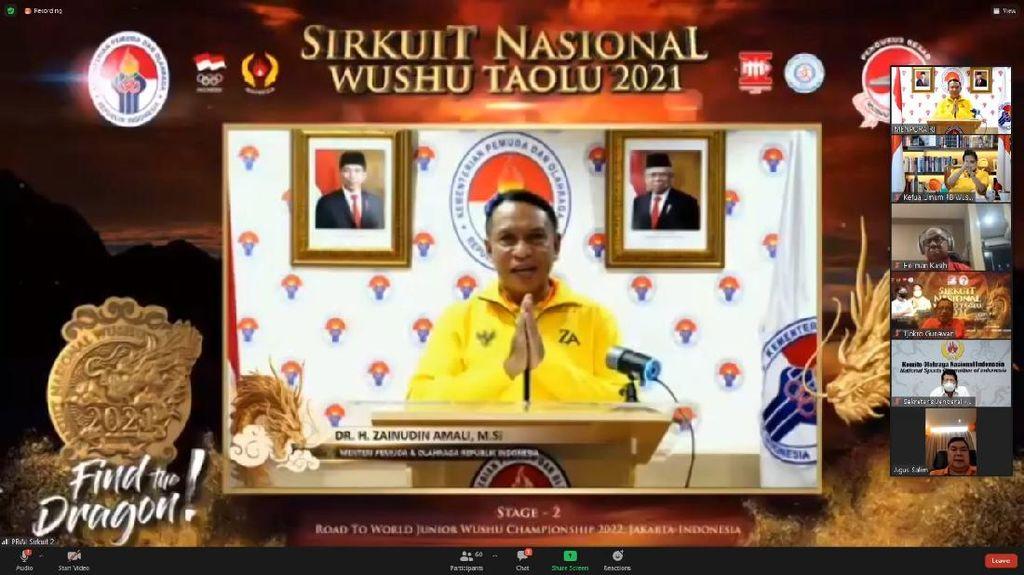 Menpora Harap Cabor Wushu Dipertandingkan di Olimpiade 2032