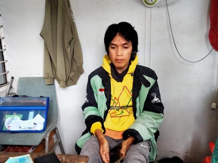 Driver ojol yang pamerkan kemaluan di depan murid SMA di Samarinda