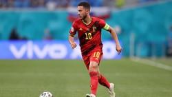 Euro 2020: Eden Hazard Makin Sip, Tinggal Butuh Gol