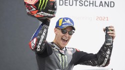 Podium Tiga MotoGP Jerman bak Emas buat Quartararo