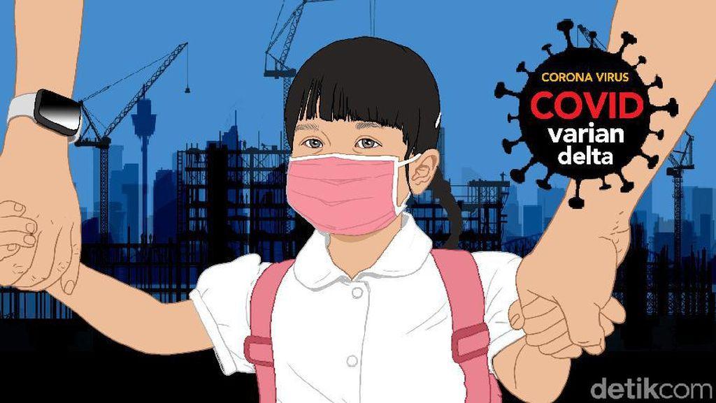 2.584 anak di Babel Positif COVID-19, Meningkat karena Ortu Abai Prokes