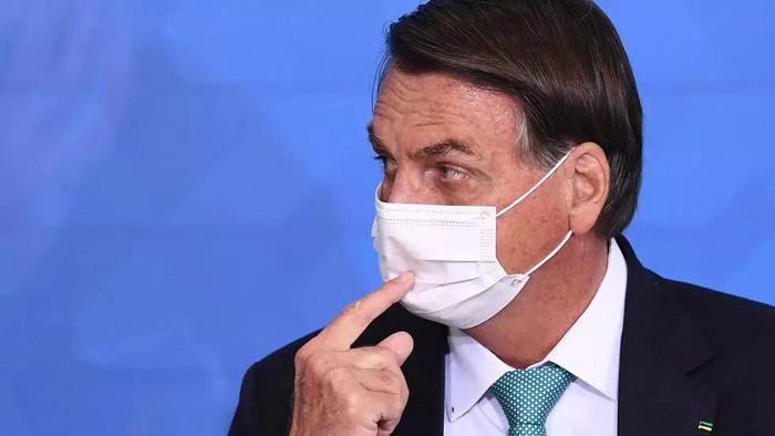 Brazilian President Jair Bolsonaro told a journalist to