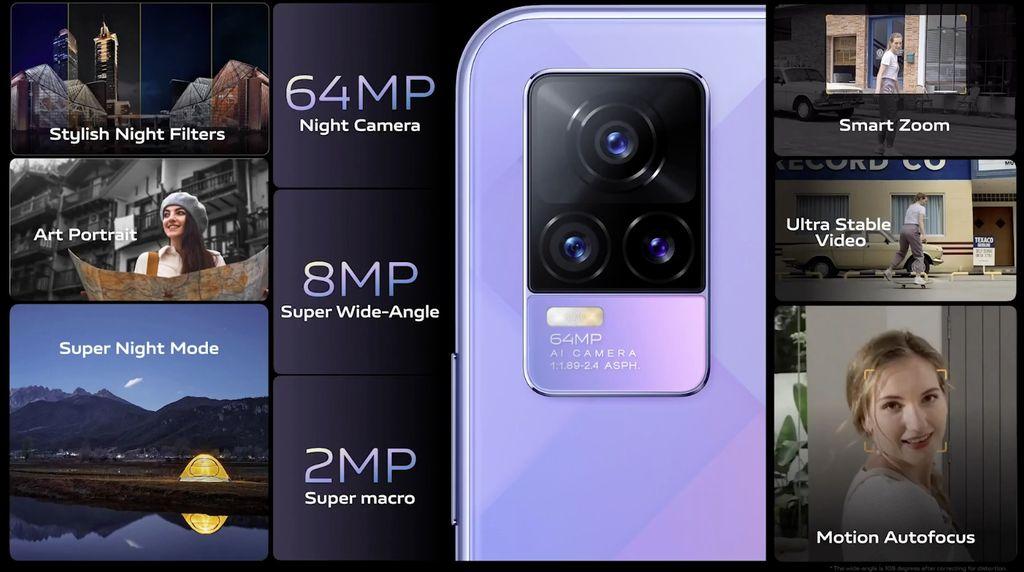 Kamera Vivo V21