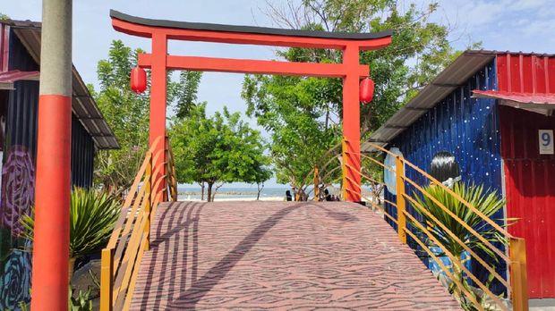 Destinasi wisata di Pulau Untung Jawa, Kepulauan Seribu.