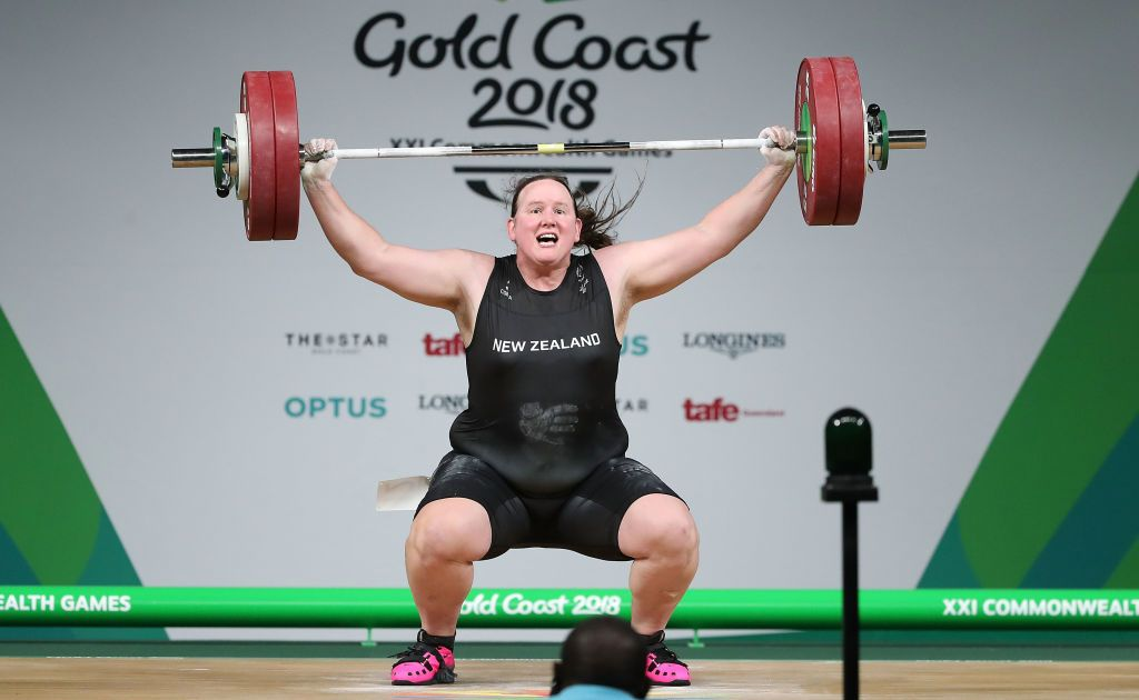 AUCKLAND, NEW ZEALAND - DECEMBER 08:  Weightlifter Laurel Hubbard poses during a portrait session on December 8, 2017 in Auckland, New Zealand.  (Photo by Hannah Peters/Getty Images)