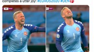 Haru Biru Netizen Rayakan Denmark Lolos Dramatis