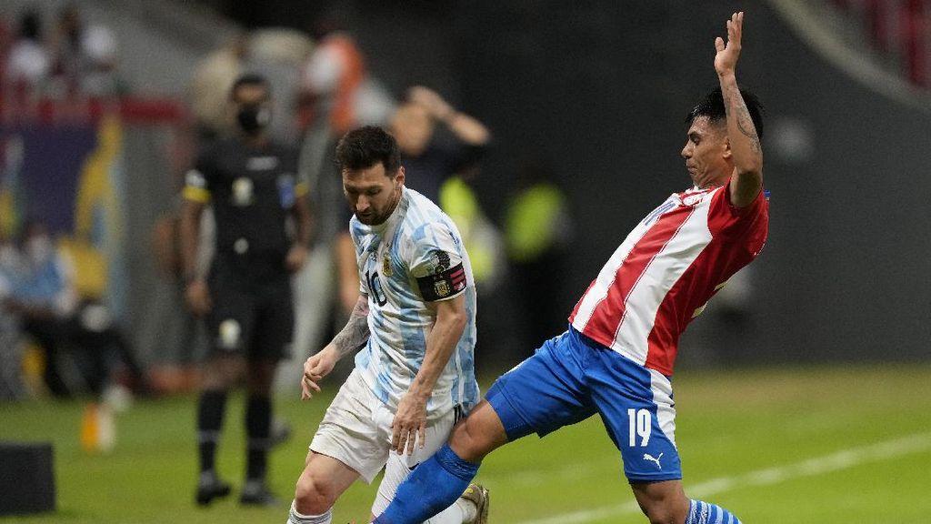 Aksi Messi Permalukan Pemain-pemain Paraguay