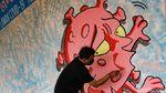 Mural Virus Corona Percantik Rumah Lawan COVID di Tangsel