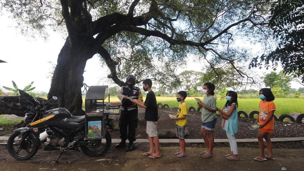Polres Klaten Sediakan Pepustakaan Keliling Untuk Anak-anak