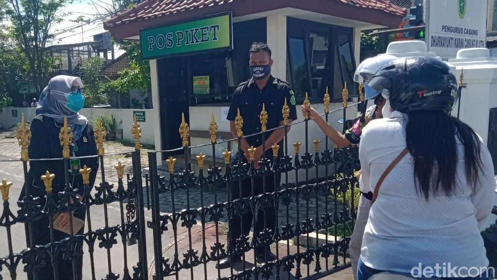 PN Klaten Ditutup Gegara 21 Pegawainya Positif Corona
