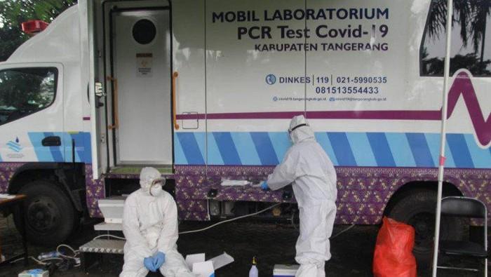 Ratusan Nakes di Kabupaten Tangerang Terpapar COVID-19