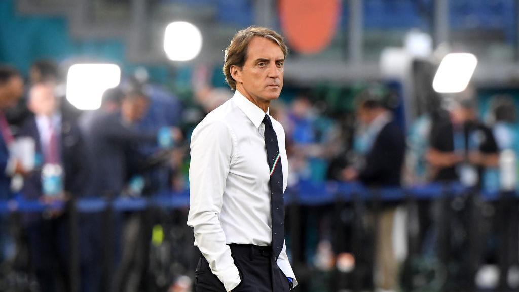 Roberto Mancini Penuh Gaya di Piala Eropa