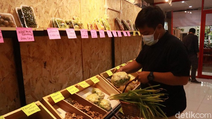 Sayuran Produksi Santri Petani di Bandung