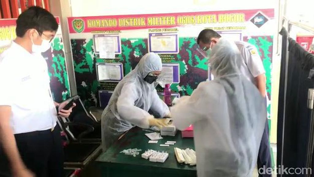 Swab Antigen Gratis di Stasiun Bogor, Seorang Calon Penumpang Reaktif