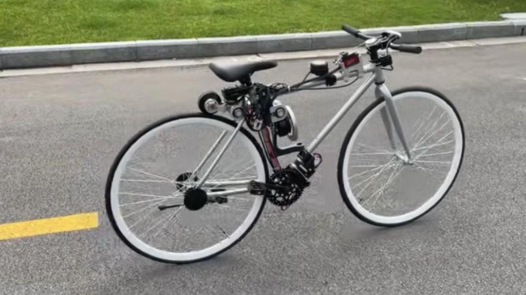Keren! Sepeda Anti Jatuh Bisa Jalan Sendiri, Bahkan saat Diam
