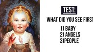 Tes Kepribadian: Gambar Bayi atau Malaikat yang Pertama Kali Kamu Lihat?