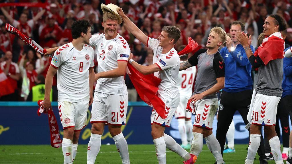 Euro 2020: Denmark Lolos Dramatis, Belgia Sempurna