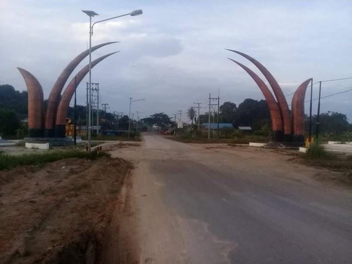 Tugu Perbatasan Samarinda-Kukar